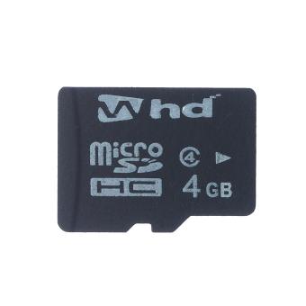 WHD SD04E 4GB Micro SD Card (Black)