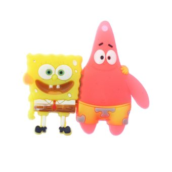 WHD Sponge Bob 8GB Flash Drive (Yellow/Pink)
