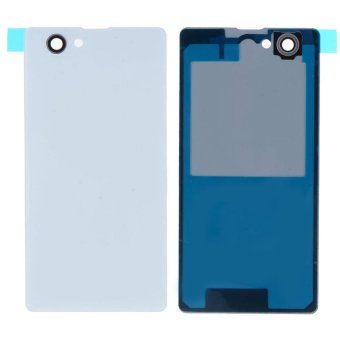 White Back Case Housing Battery Door Rear Cover For Sony Xperia Z3 mini - intl