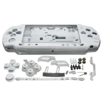 White Full Housing Shell Faceplate Case Parts Replacement for Sony PSP 2000 Console - intl Price Philippines