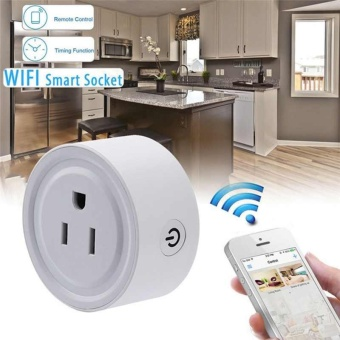 WiFi Smart Socket Phone Remote Control Timer Switch Power SocketOutlet US Plug - intl