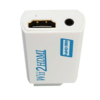 Wii to HDMI Wii2HDMI Full HD FHD 1080P Converter Adapter 3.5mm - 5