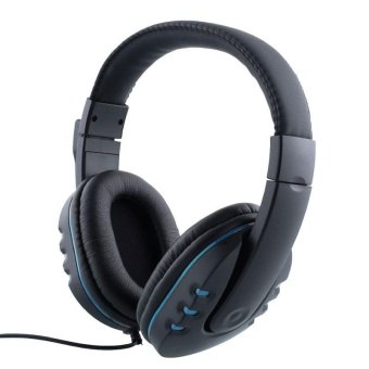 Wired Gaming Headset Stereo Headphone With Mic For PC Gamer Casque Audio - intl