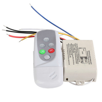Wireless 3 Ways On/Off Digital Remote-Control Switch for LED Light220-240V