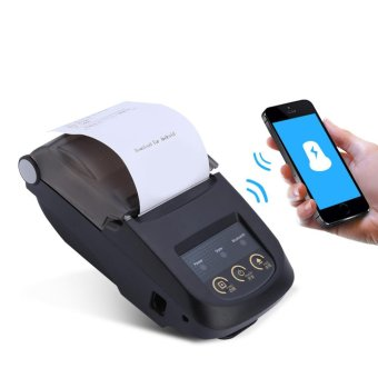 Wireless 58mm Bluetooth Thermal Receipt Printer Support Android IOS Windows - intl