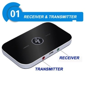 Wireless Bluetooth 2-in-1 Audio Music A2DP Receiver Transmitter Adapter - intl - 2