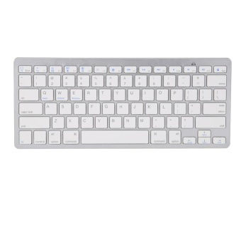 Wireless Bluetooth 3.0 Keyboard for Apple iPad 2 3 4 air 1 2 mini (White) - intl