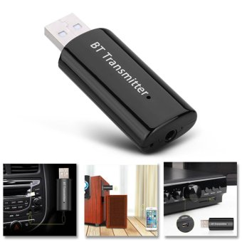 Wireless Bluetooth 4.0 Music Transmitter Stereo Audio ReceiverAdapter USB Dongle - intl