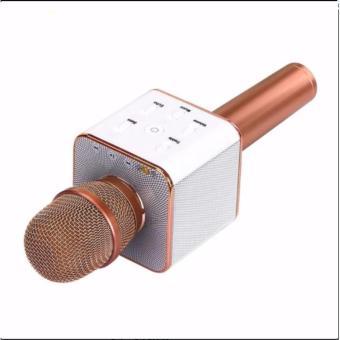 Wireless Bluetooth Handheld Microphone & HiFi Speaker Karaoke KTV Q7 - 4
