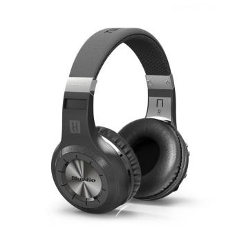 Wireless Bluetooth Headphone Headset With Microphone (Black) - Intl