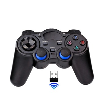 Wireless Game Controller Game Pad Joystick for Android TV Box Tablets PC 2.4G - intl