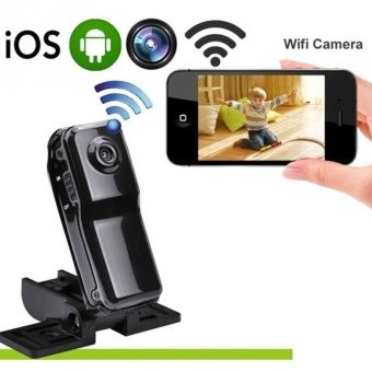 Wireless MD81 Mini Camera 480p Spy Remote Surveillance Hidden WiFiCamera - intl - 4