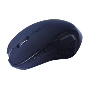 Wireless Mini Bluetooth 3.0 6D 1600DPI Optical Gaming Mouse Mice for Laptop BK - intl