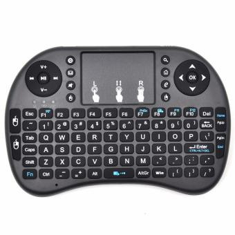 Wireless Mini Handheld Keyboard with Touchpad Mouse Combo for SmartTV/Android/PS3/Xbox 360/TV Box/PC with Windows OS, Mac, Linux