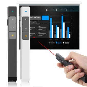 Wireless Presenter, Wireless Laser Presenter, 2.4GHz PowerpointClicker Presentation Remote Control Pointer Laser Pen - intl