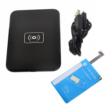 Wireless QI Charger Charging Pad + Receiver Kit for Samsung Galaxy Note 4 N9100