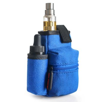 Wismec Reuleaux RX2/3 200W Variable Electronic Cigarette Mod (Gold) with Coil Master Portable Pouch Bag for e-Cig (Color May Vary) - 5