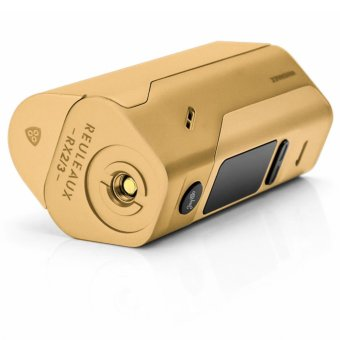 Wismec Reuleaux RX2/3 200W Variable Electronic Cigarette Mod (Gold) with Coil Master Portable Pouch Bag for e-Cig (Color May Vary) - 4