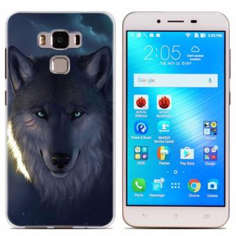 Wolf design Tpu soft slim case for Asus Zenfone 3 Max 5.5''/ZC553KL