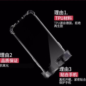 Wonderful series shockproof case for Huawei GR5 2017(clear)