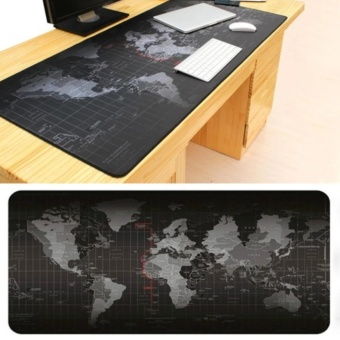 World Map Extra Large Mouse Pad 900x400 mm