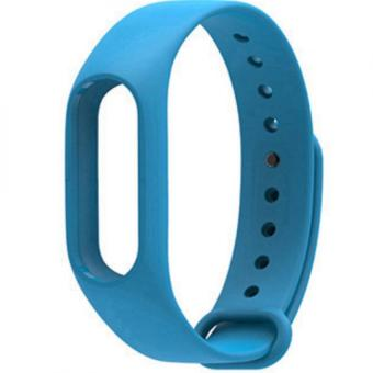 Wrist Strap Replacement for Xiaomi Mi Band 2 Smart Wristwatch(Blue)