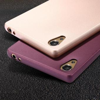 X-LEVEL Guardian Series Matte TPU Cover for Sony Xperia Z5 Premium / Dual - Gold - intl - 2