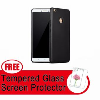X-Level Guardian Ultra Slim Shockproof Case for Xiaomi Mi Max 2with FREE Tempered Glass (Black) Price Philippines