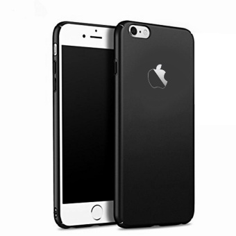 X-Level Rubberized Matte Hard Back Case for Apple iPhone 6 / 6s (Black)