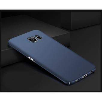 X-Level Rubberized Matte Hard Back Case for Samsung Galaxy S7 Edge (Blue) - 2