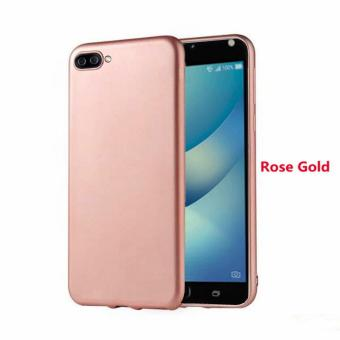 X-Level Slim Case Rubberized Matte Finish For Asus Zenfone 4 MaxZC554KL (Rose Gold)