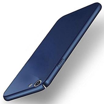 X-Level Slim Matte Rubberized Finish Hard Case For Oppo F1s A59 (Navy Blue )