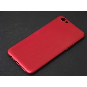 X-Level Slim Matte Rubberized Finish Hard Case For Oppo F3 Plus(Red)