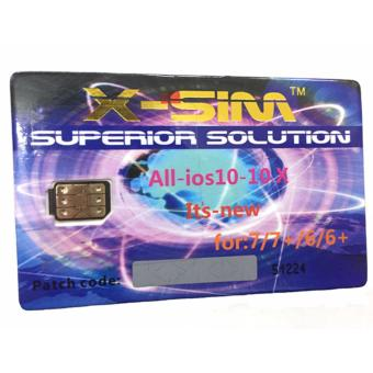 X-SIM X-K13 Ios 10-10X The Best Unlock and Activation SIM foriPhone 4S/5/5C/5S/6/6 Plus/6s/6s Plus/7/7 Plus (Gold) Price Philippines