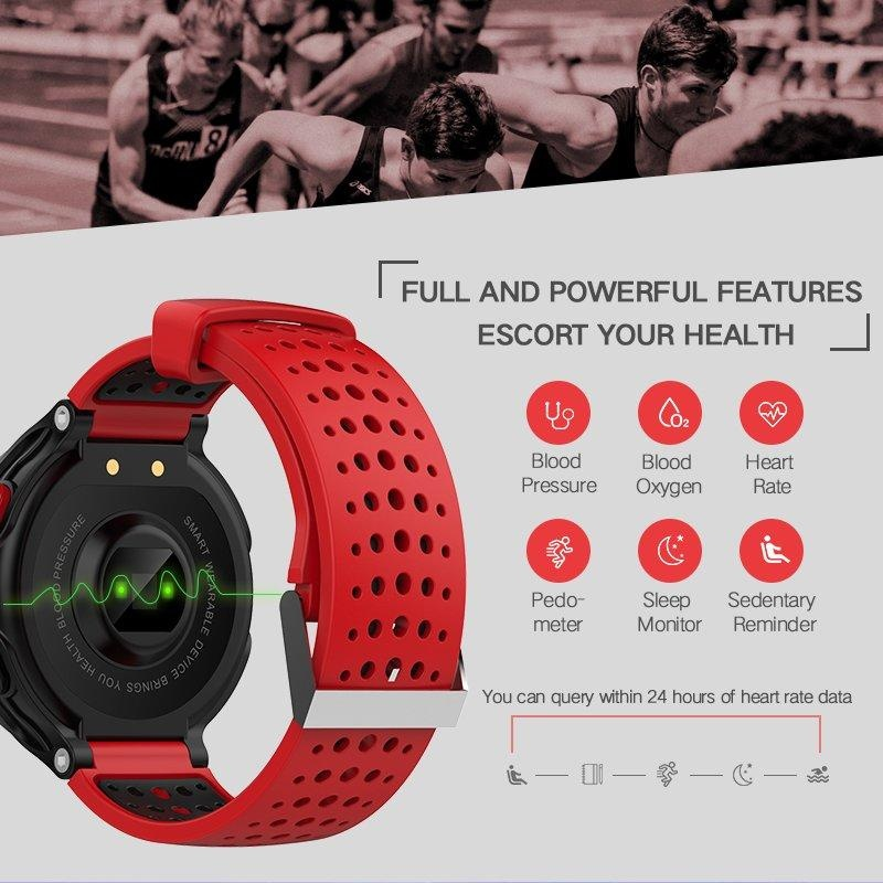 ... X2 Couples Wristband Heart Rate Monitor Smart Watches Blood Pressure Monitor Smart Band Bluetooth IP68 Water ...