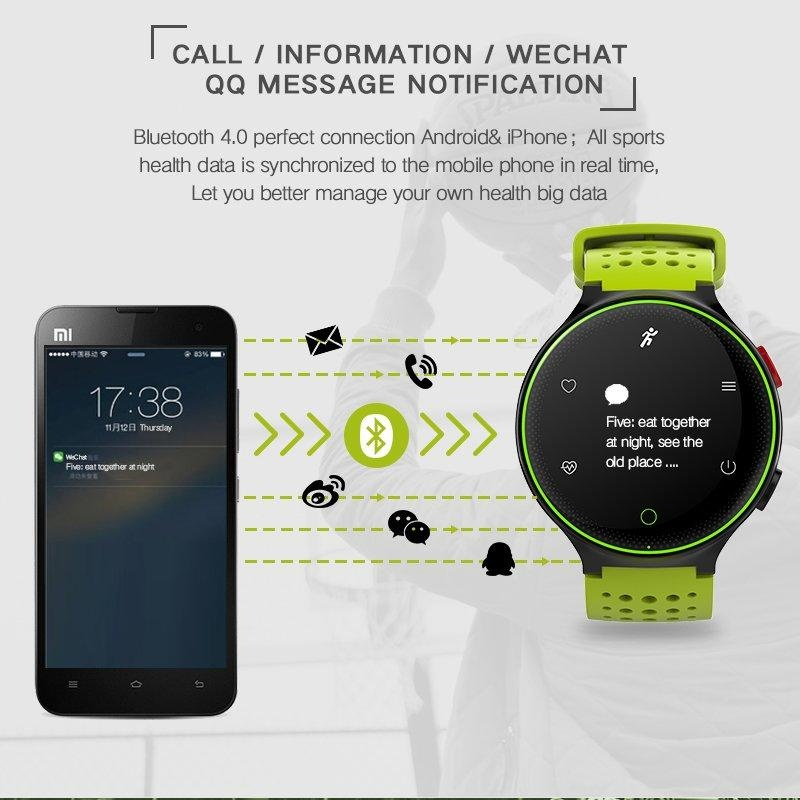 X2 Couples Wristband Heart Rate Monitor Smart Watches Blood Pressure Monitor Smart Band Bluetooth IP68 Water ...