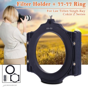 XCSOURCE Filter Holder + 77-77 Ring for Lee Tiffen Singh-Ray CokinZ Series 4X4 4X6 LF405
