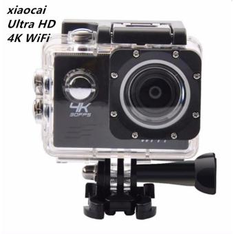 xiaocai-pro Ultra HD 4K WiFi 16MP Action Camera Sport DVR (Black)