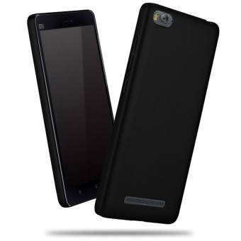 Xiaomi Mi 4i Hard PC Smooth Grip Full Body Protection Back Case(Black) - intl Price Philippines