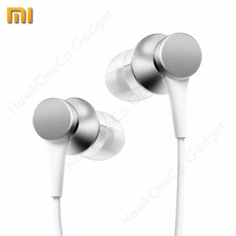 Xiaomi Mi Piston 3 Fresh Youth Version HSEJ3JY Basic In-Ear Stereo Earphone with Mic Original / Authentic (Silver)