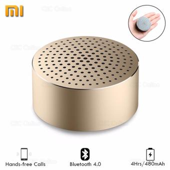 Xiaomi Mi Wireless Bluetooth 4.0 Mini Portable Loudspeaker StereoHands-free Calls Music Speaker XMYX02YM (Gold)