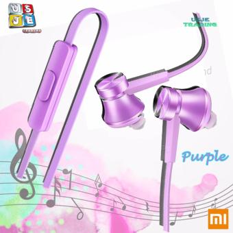 Xiaomi Piston Fresh Edition Wired Control Earphone Headphone WithMic (Purple)