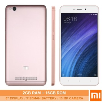 Xiaomi Redmi 4A 2GB RAM 16GB ROM-(Rose Gold)