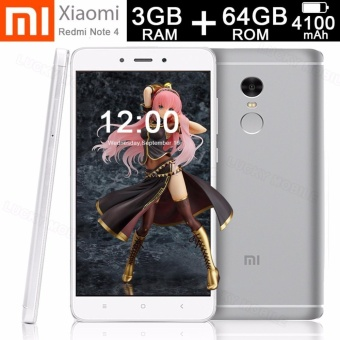 Xiaomi Redmi Note 4 3GB RAM 64GB ROM Deca-core 2.1GHz (White Silver)