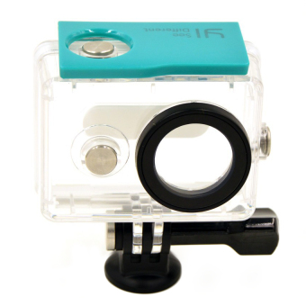 Xiaomi Xiaoyi Yi Waterproof PC Case for Sport Action Camera(Cyan/Clear)