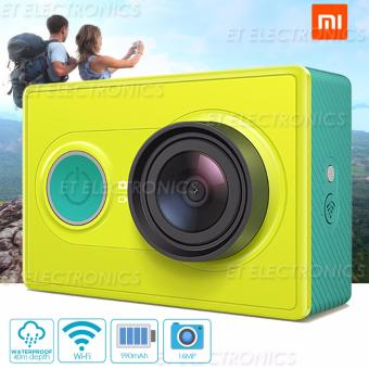 XiaoMi Yi 16MP Action/Sports Camera(Green)