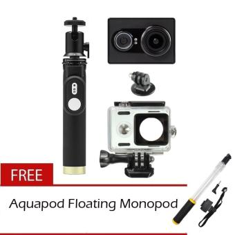 XiaoMi Yi 16MP Sports and Action Camera with Kingma WaterproofCase, Yi Monopod and Yi Remote Shutter Free Aquapod Price Philippines