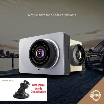 Xiaomi Yi Smart Car DVR Dashcam Camera English Version