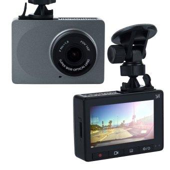 Xiaomi Yi Smart Dash Camera English Version Dashboard Car DVR Night Vision 1080P HD (Gray) - 4
