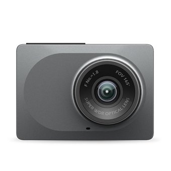 Xiaomi Yi Smart Dash Camera International Version Car DVR NightVision 1080P HD (Gray)